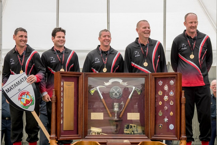 Results: Australasian Firefighters Championship, 17-19 November, 2017, Carterton, New Zealand